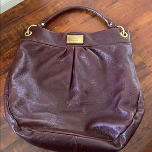 Dark purple Marc by Marc Jacobs large purse